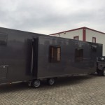 Fifthwheel met slide outs, Fifthwheel camper, Fifthwheel tiny home, BE combinatie