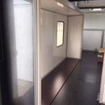 Fifthwheel camper, Fifthwheel tiny home, slide outs