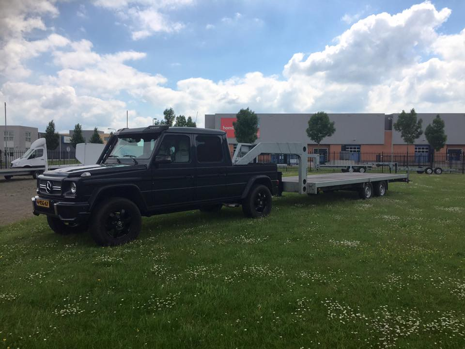 Mercedes G, BE combinatie met Fifthwheel